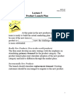 5 Product Launch Plan