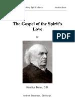 Bonar, Horatius - Gospel of The Holy Spirits Love
