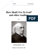 Bonar, Horatius - How Shall I Go To God