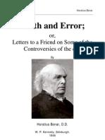 Bonar, Horatius - Truth and Error