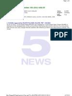 Ranger Files File No RG 2011 00135 Molina