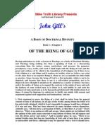 Gill, John - Body of Divinity Vol 1