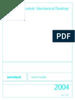 Mechanical Desktop 2004