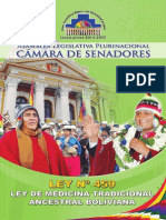 Ley de Medicina Tradicional Ancestral Boliviana