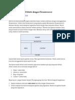 Membuat Design Web Deng an Dreamweaver