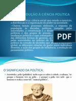 Introdução à Ciência Política i