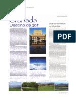 Granada Destino de Golf | Gaspar Lino