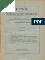 Revista de Derecho Internacional y Política Exterior. 1906, No. 1