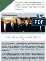 Cantor Benny Rogosnitzsky World