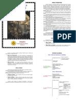Ordinário da Missa Tridentina - tamanho pequeno (versão de bolso)