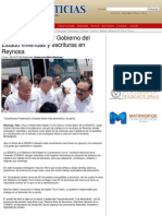 08-07-2014 Entregan SEDATU y Gobierno del Estado viviendas y escrituras en Reynosa