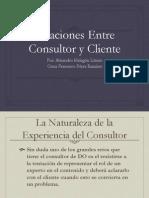 Relacion Entre Consultorio Y Cliente