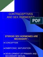 2. Contraceptive and Sex Hormones