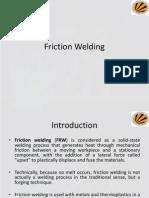 Friction Welding, Explosive Welding