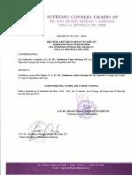 Web Master SCG33 Peru 2014 - I.·.P.·.H.·. Guillermo Calvo Soriano 33°