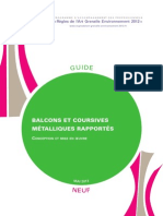 Guide Rage Balcons Coursives Metalliques Rapportes 2013 05