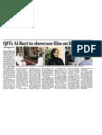 QFI's Al-Bayt to showcase film on life in Qatar