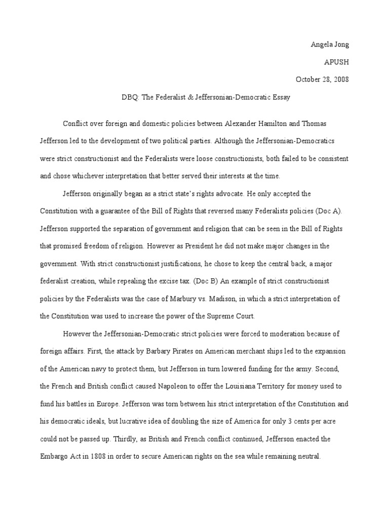 marbury vs madison essay