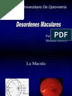 DESORDENES MACULARES