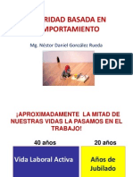 Taller Seguridad Basada en Comportamiento - Trujillo