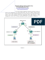 Belajar Mensetting Multicast Routing Di Router Cisco