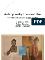 3. Anthropometry Tools and Use