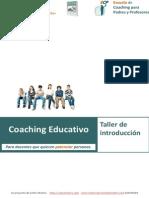 Coaching Educativo. Taller de coaching para profesores