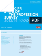 CIPR State of the Profession 2014 V10AW