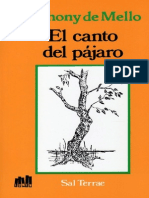 El Canto Del Pajaro - Anthony de Mello