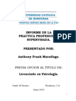 Monografia Anthony Maradiaga
