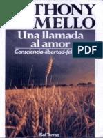 Una Llamada Al Amor Anthony de Mello