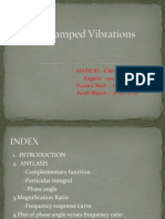 Forced Damped Vibrations - Chirayu (Regular 48),Darshil Shah (d to d 08),Parth Bhatt(d to d 10)