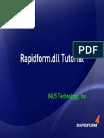 Rapidform Tutorial