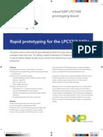 Development Board for LPC1768 Series