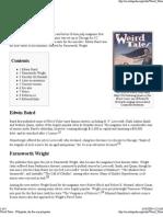 Weird Tales (Info)