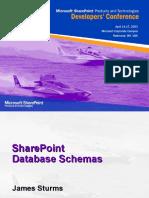SharepointDatabaseSchema