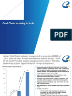 Cold Chain Industry in India a Report
