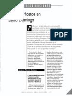 Peregrinaciones - El Sr. Hostos en Santo Domingo