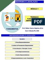 01-SLIDES-EMPPREND E LEGISL.-2009.1-V.02