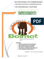 Proyecto de Emprendimiento Bolmot