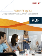 Xerox Windows8 Matrix