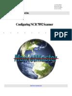 NCR 7892 Scanner Config