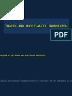 Sec 30 Travel & Hospitality Industries