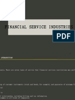 Sec 33 Financial Service Industries