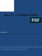 Sec 38 Quality In Western Europe