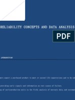 Sec 48 Reliability Concepts and Data Analysis