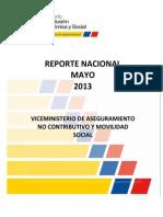 Reporte Nacional_ Mayo 2013 Créditos BDH