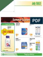 Landry's Pharmacy July Sales