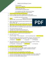 10 Soal PG Pilihan Asset Pricing