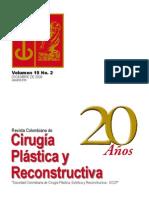 Cirugía Plastica y Reconstructiva Volumen 15 2 Diciembre 2009
